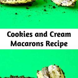 Cookies and Cream Macarons Recipe