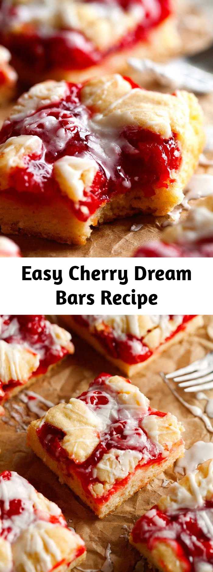 Easy Cherry Dream Bars Recipe - Not only does it require less than 10 minutes of active time to make these, but you'll likely have everything you need already in your pantry. I like to work with simple ingredients to make some scrumptious recipes that are filled with flavor. Perfectly suitable to feed a crowd or just a couple of people – these bars are definitely no exception!