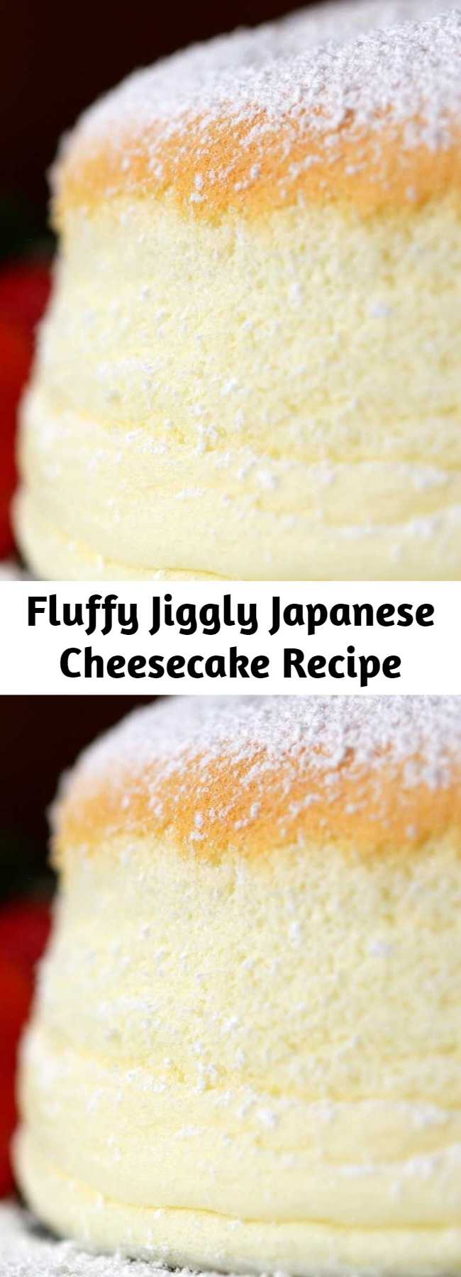 Fluffy Jiggly Japanese Cheesecake Recipe - Learn to master this Japanese classic dish in your own home! Get ready to whip a lot of egg whites to create this exciting jiggly texture as well as layer in flavors like cream cheese.