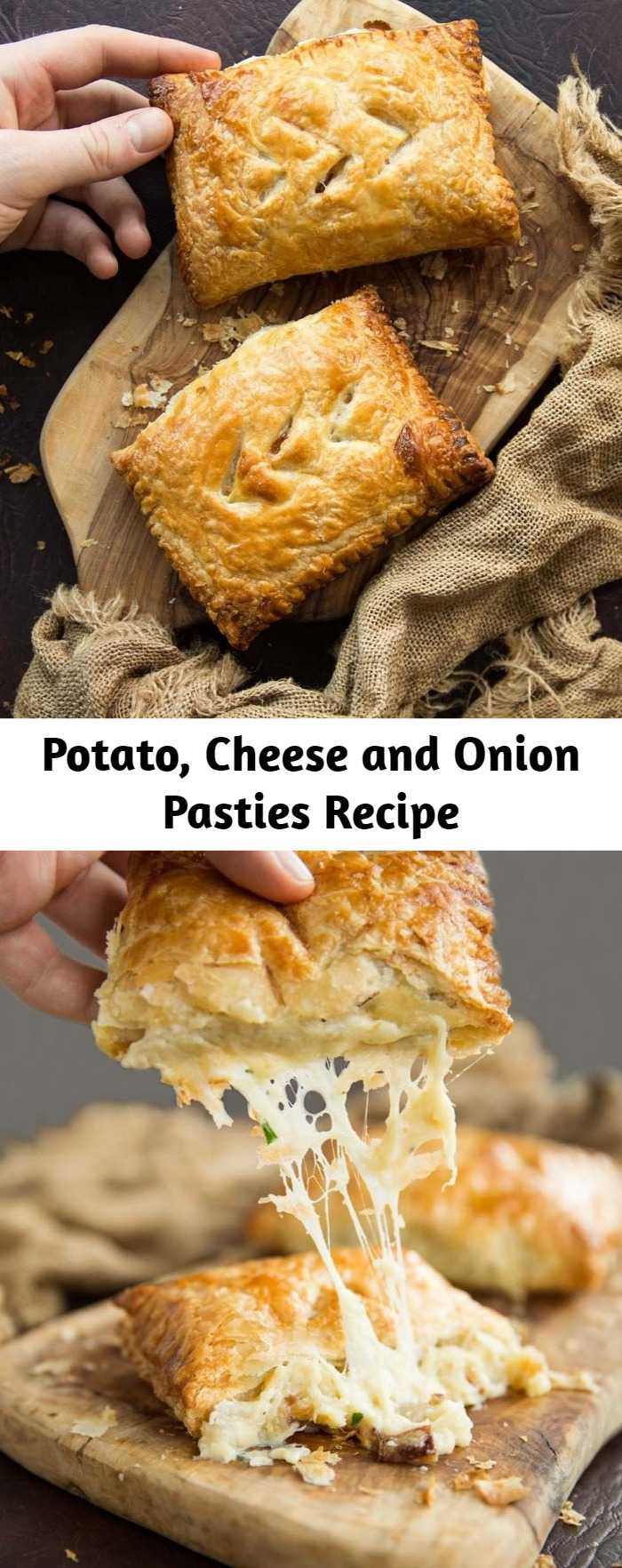 Potato, Cheese and Onion Pasties Recipe