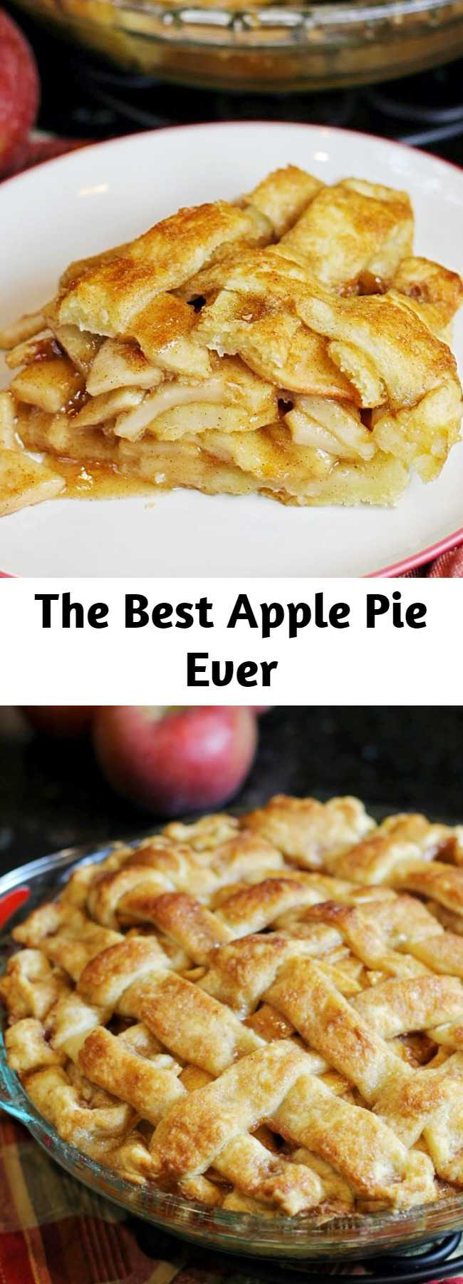 The Best Apple Pie Ever - So, what makes this apple pie so special? Let's take a look at some key ingredients. The type of apple you use does make a difference. I use granny smith, but I've successfully made it with other varieties. As long as you choose a hard, tart apple, the end result will be delicious.