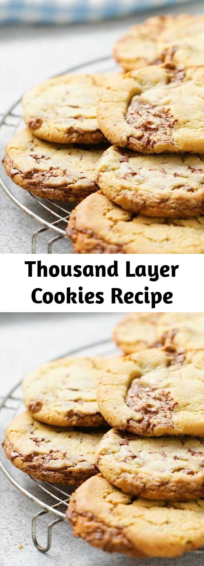 Thousand Layer Cookies Recipe - Little known fact: the name actually refers to how many of these you'll want to layer on your plate.