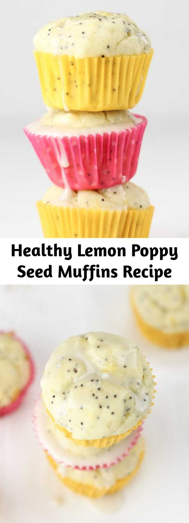 Healthy Lemon Poppy Seed Muffins Recipe - Healthy Lemon Poppy Seed Muffins recipe is super moist made with natural ingredients, gluten-free, dairy-free and low-sugar. Ultimate delicious plus healthy recipe for breakfast. Just 86 calories per muffin! It is the ultimate, delicious and healthy recipe for breakfast.