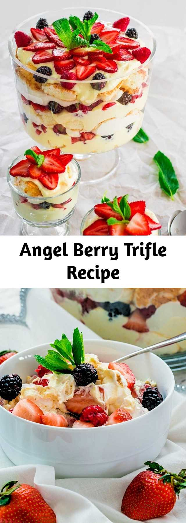 Angel Berry Trifle Recipe