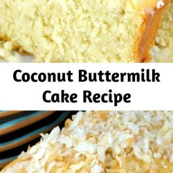 This old-fashioned Coconut Buttermilk Pound Cake has just the right amount of sweetness balanced with a bit of tang. The texture of this cake is sublime! Flavor-packed and perfectly smooth, bringing an elegant finishing touch to any party, barbecue, or summertime dinner!