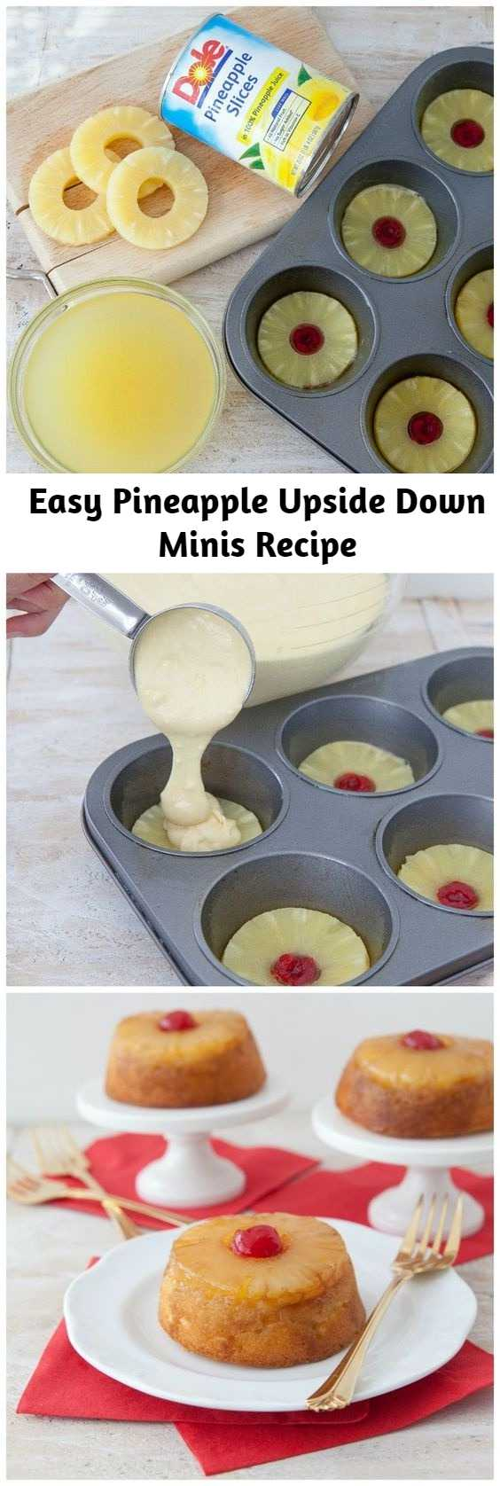 Easy Pineapple Upside Down Minis Recipe