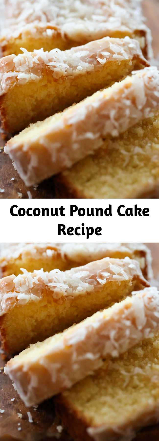This pound cake is SO moist and so delicious! It will quickly become a new favorite!