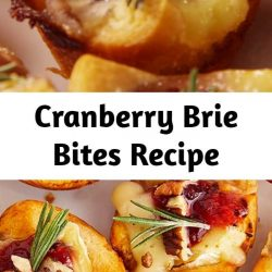 These little guys are the perfect appetizer to make during the holidays. Not only do they come together in seconds, they disappear in seconds too! Canned cranberries work great, but if you've got homemade cranberry sauce leftover, use it! #food #comfortfood #holiday #lunch #dinner #easyrecipe #recipe #inspiration #ideas #home