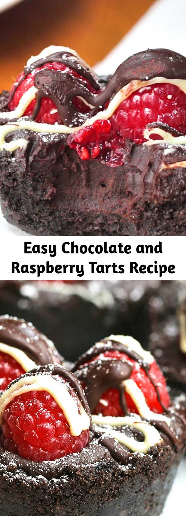 This simple, decadent tart will keep overnight in the refrigerator (top with raspberries just before serving). Try it with vanilla ice cream or whipped cream.