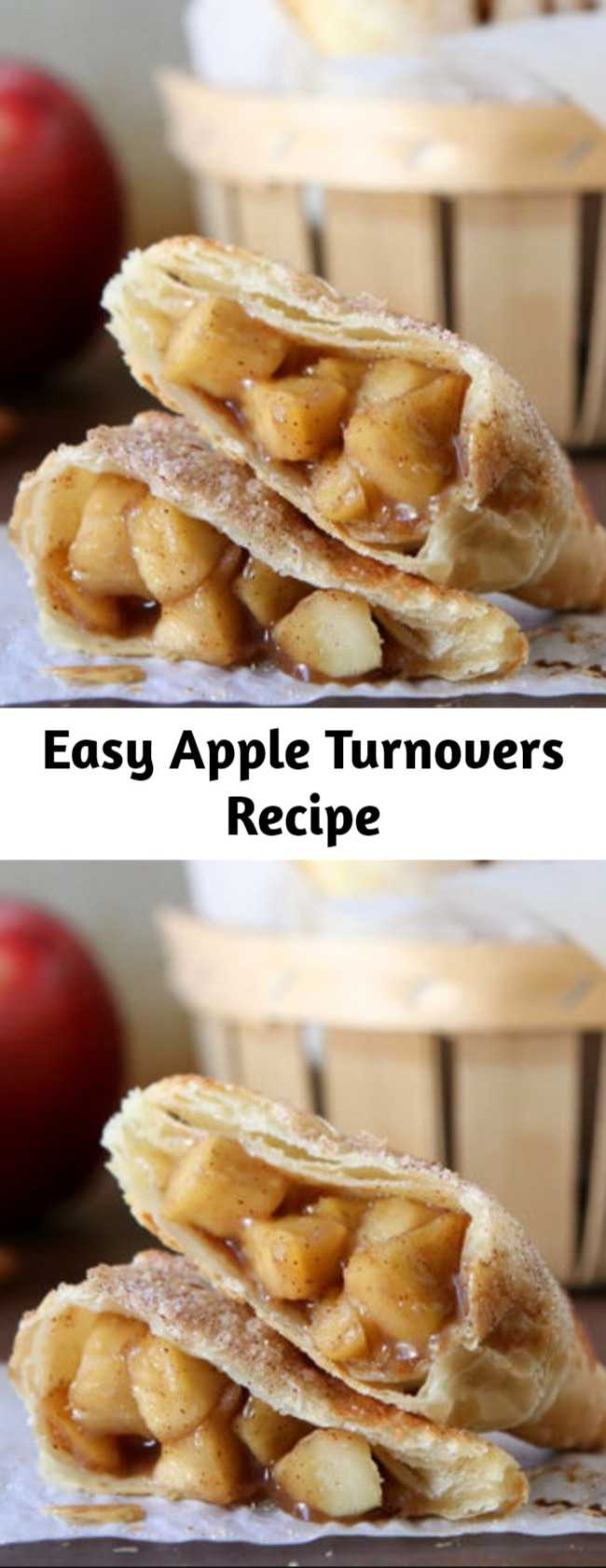 Easy Apple Turnovers Recipe - Forgo bakery-made sweets and try making your own apple turnovers at home. It's easier than you think!