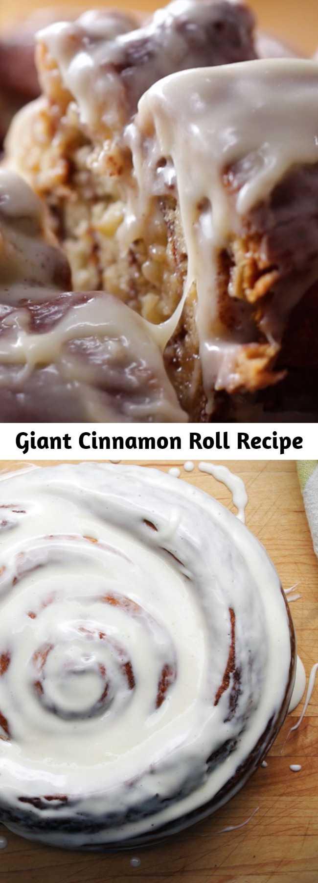 Giant Cinnamon Roll Recipe